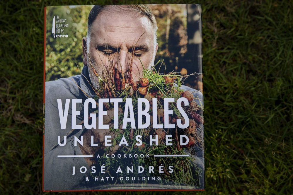 """Vegetables Unleashed,"" by José Andrés and Matt Goulding. (Robin Lubbock/WBUR)"