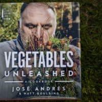 """""""Vegetables Unleashed,"""" by José Andrés and Matt Goulding. (Robin Lubbock/WBUR)"""