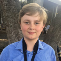 Ben Hofer, an eighth grader at St. Andrew's Episcopal School in Austin, Texas, crowdfunded more than $10,000 to pay off his district's school lunch debt. (Courtesy of Peter Hofer)