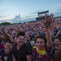 The crowd at Boston Calling last year. (Jesse Costa/WBUR)