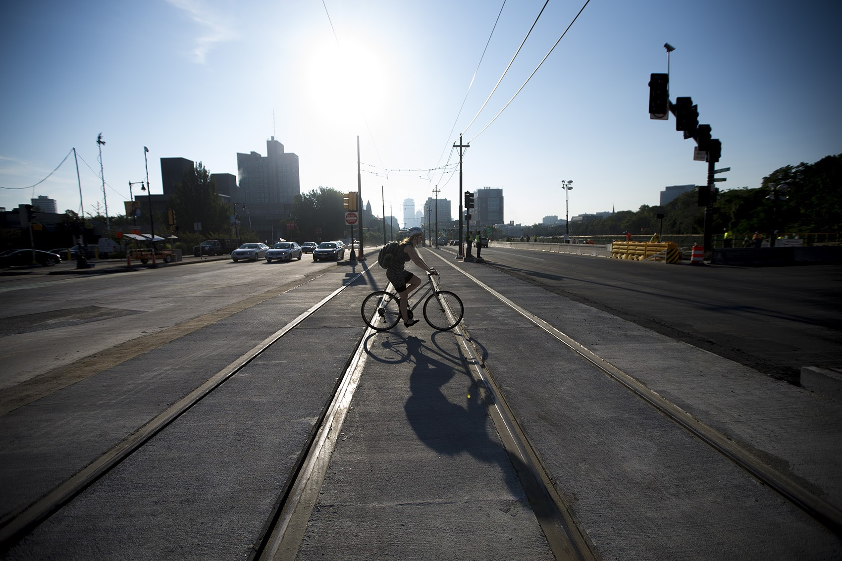 """In all the warm-weather excitement, a persistent thought might also re-enter your brain: """"I want to start biking."""" (Jesse Costa/WBUR)"""