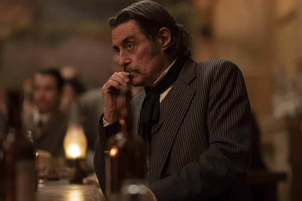 """Ian McShane as Al Swearengen in """"Deadwood: The Movie."""" (Courtesy Warrick Page/HBO)"""