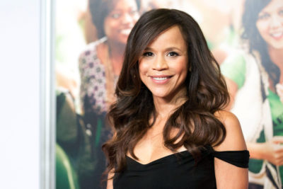 "Rosie Perez talks to Here & Now's Robin Young about the 25th anniversary of ""In Living Color."" Dario Cantatore/Invision/AP)"