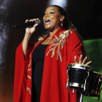 Queen Latifah performs at the 2018 Essence Festival in New Orleans. (Donald Traill/Invision/AP)