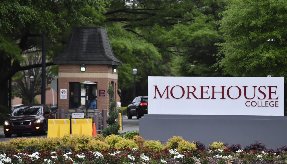 Billionaire Robert F. Smith surprised nearly 400 graduates of Morehouse College in Atlanta when he announced he would eliminate their student debt — an amount estimated at $40 million. (Mike Stewart/AP)