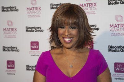 Gayle King attends the Matrix Awards at the Sheraton New York Times Square on Monday, May 6, 2019, in New York. (Andy Kropa/Invision/AP)