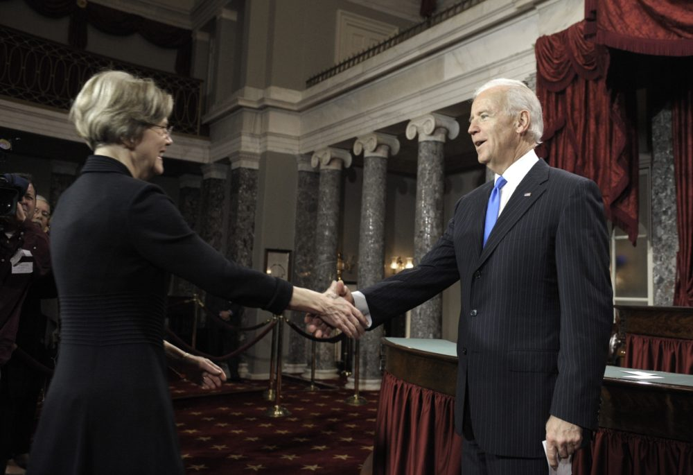 14 Years Ago, Warren And Biden Battled Over Bankruptcy. Their Fight Still Defines A Party Rift