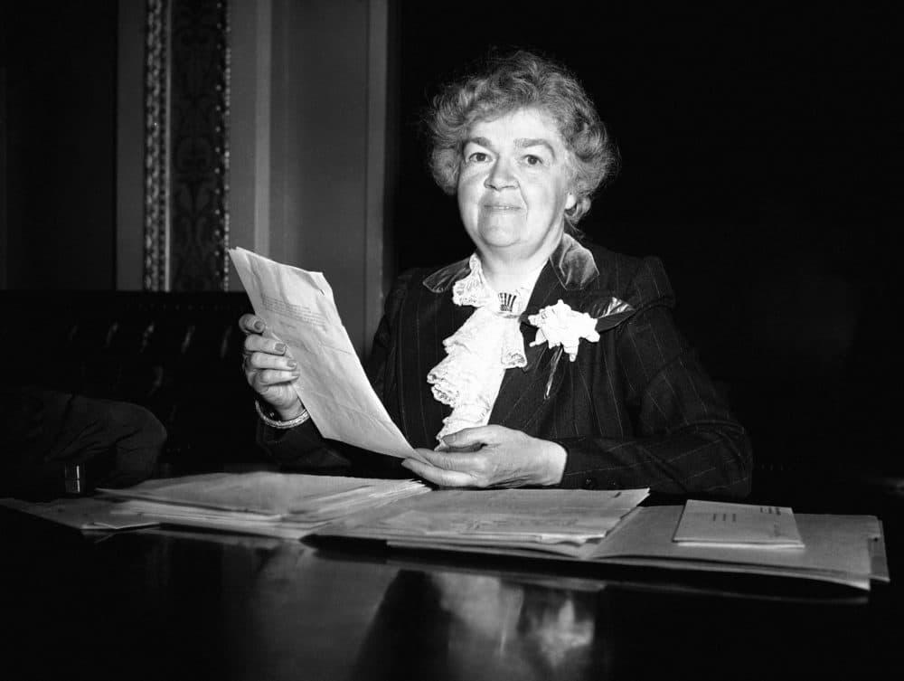 Rep. Edith Nourse Rogers is seen in 1949. (AP)
