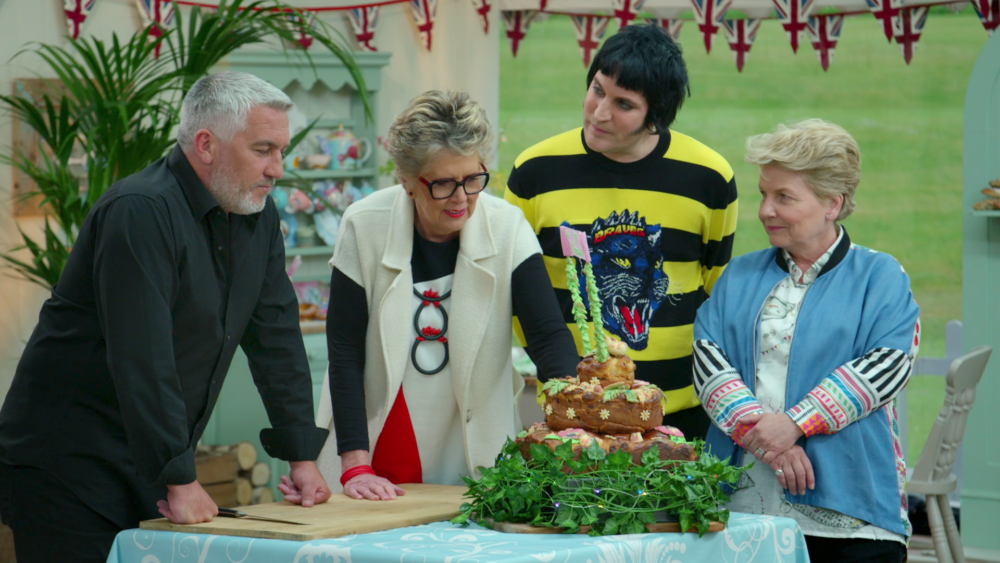 "Bread Week at ""The Great British Baking Show."" (Netflix)"