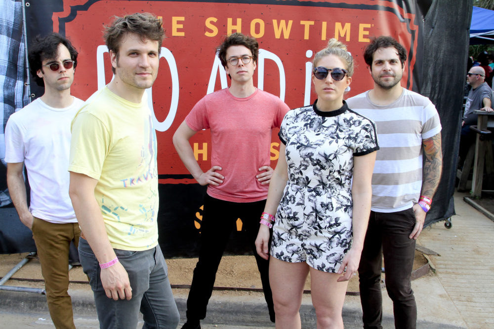 Members of the band Ra Ra Riot attend SHOWTIME Roadies House at SXSW 2016 in Austin, Texas. (Rahav Segev/Getty Images for Showtime Networks)
