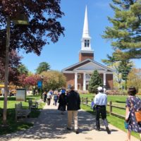 Gordon College is considered one of America's flagship evangelical colleges. (Max Larkin/WBUR)