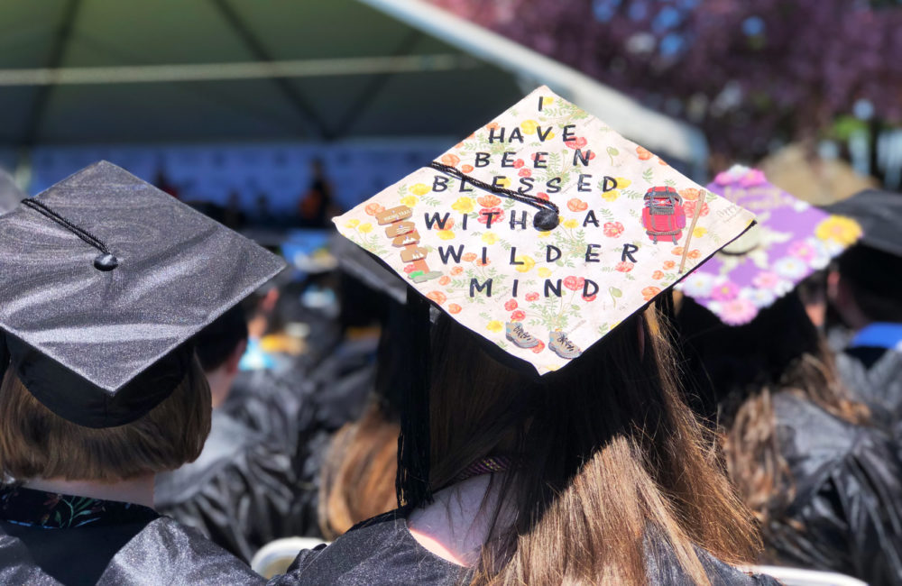 Gordon College graduated its senior class Saturday, May 19. (Max Larkin/WBUR)
