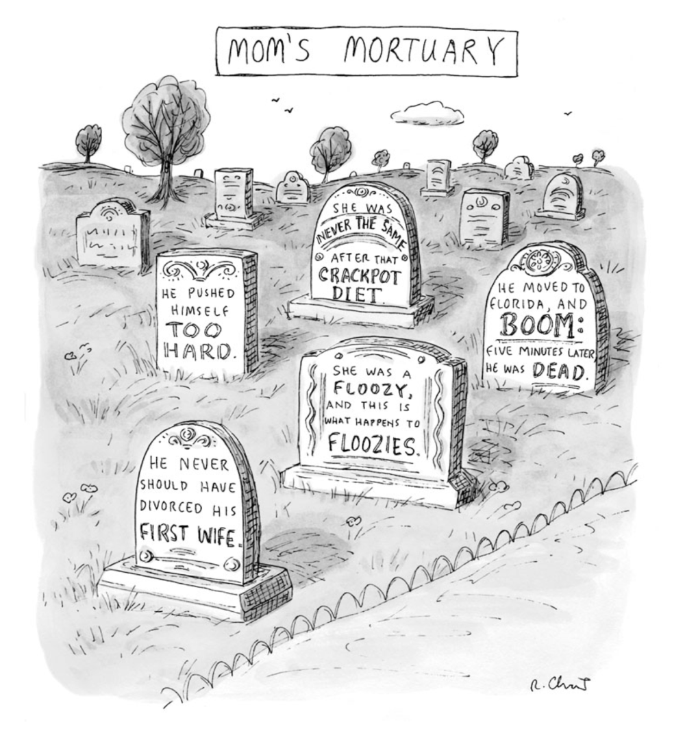 (Illustration by Roz Chast)