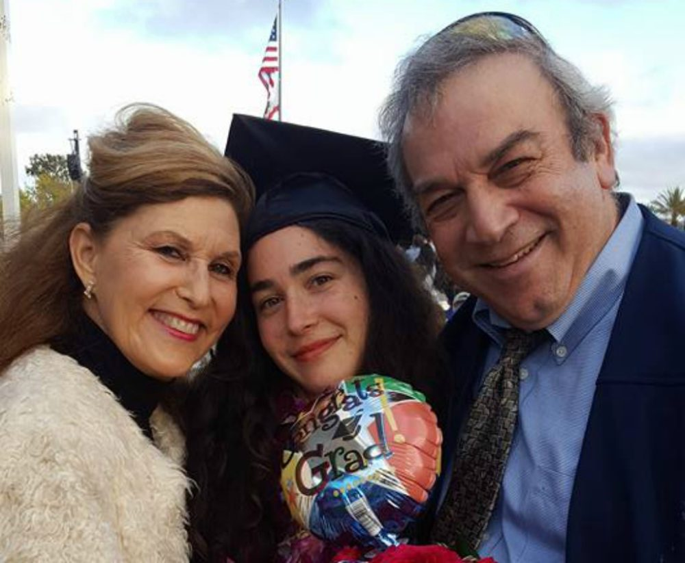Lori Gilbert-Kaye (left) pictured with her daughter Hannah and husband Dr. Howard Kaye. (Facebook)