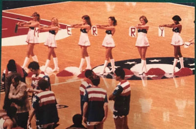Anna Cruse (third from left) and the Bullettes celebrate the 1978 holiday. (Courtesy Anna Cruse)