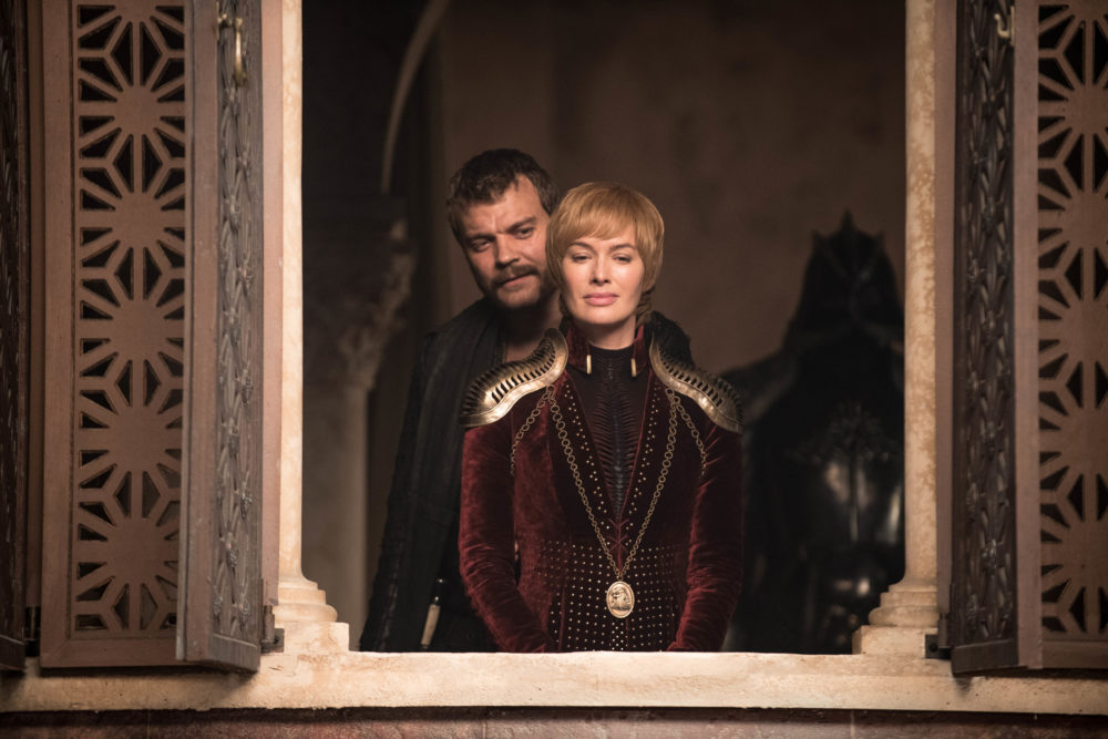 "Pilou Asbæk and Lena Headey in ""Game of Thrones."" (Helen Sloane/HBO)"