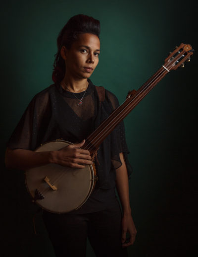 Musician Rhiannon Giddens wants to challenge the narrative of the classical music canon (Courtesy David McClister)