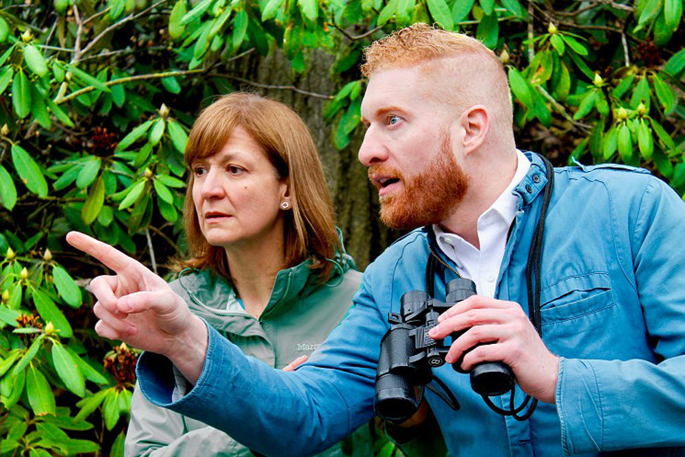 """""""The Nature Plays"""" is the first of two site-specific series created by the cemetery's first playwright-in-residence. (Courtesy Mount Auburn Cemetery)"""