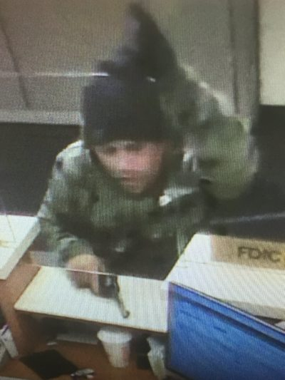 A man accused of robbing a Somerville bank in early May. (Photo/Arlington Police Twitter)