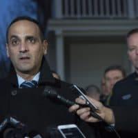 Somerville Mayor Joseph Curtatone in 2017 (Jesse Costa/WBUR)
