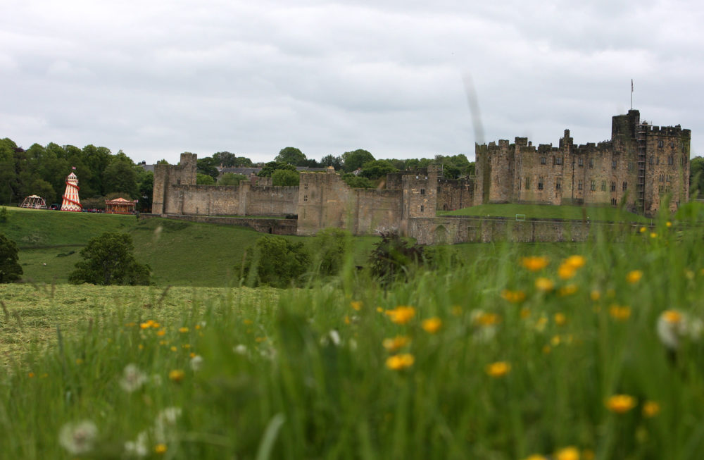 """Calling all would-be witches and wizards: Alnwick Castle (pictured) was used as a stand-in for Hogwarts in the """"Harry Potter"""" movies. (Scott Heppell/AP)"""