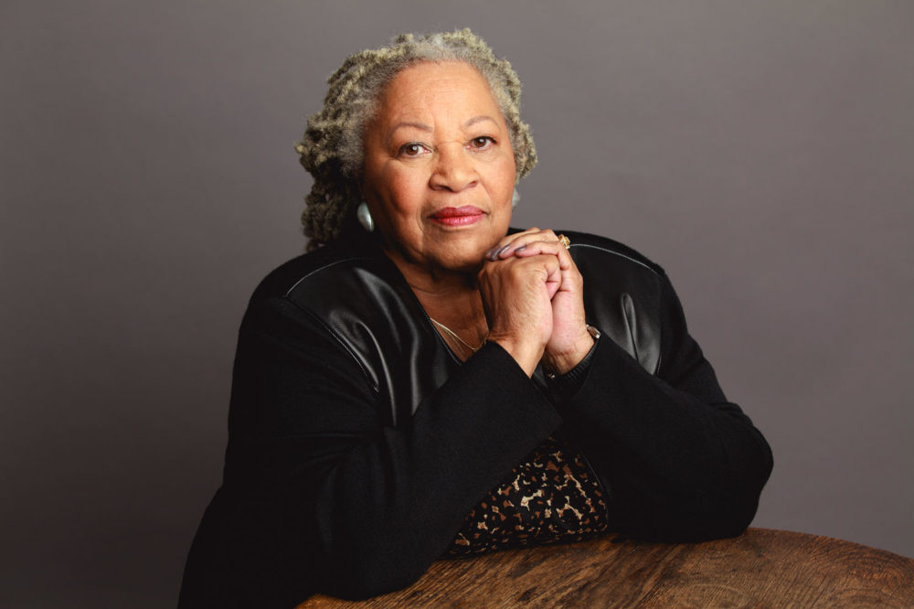 "Toni Morrison in ""The Pieces I Am."" (Courtesy Timothy Greenfield-Sanders/Magnolia Pictures)"