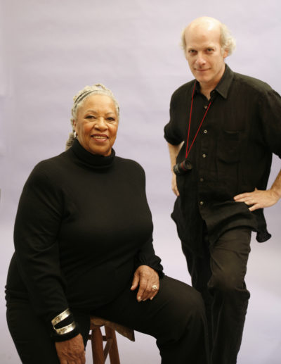Toni Morrison and Timothy Greenfield-Sanders. (Courtesy Timothy Greenfield-Sanders/Magnolia Pictures)