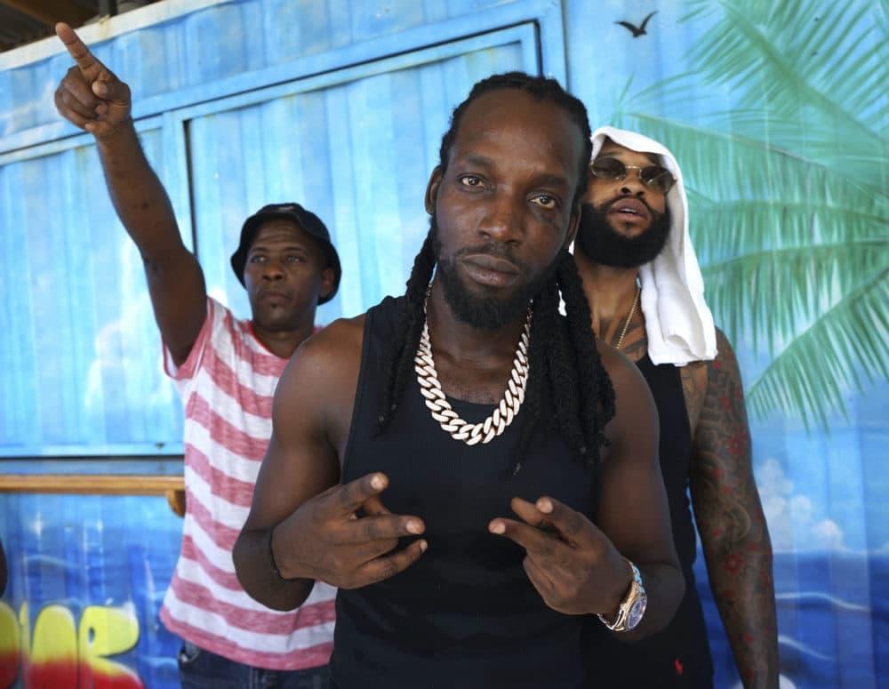 Jamaican dancehall star Mavado in Roseau, Dominica. (Gemma Handy/AFP/Getty Images)