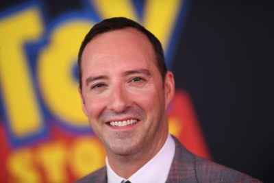 "Tony Hale arrives for the world premiere of ""Toy Story 4"" in Hollywood, Calif. (Valerie Macon/AFP/Getty Images)"
