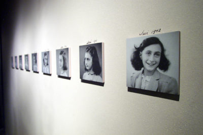 Anne Frank's father hoped to get the family to the U.S., but visa programs that would have allowed families like the Franks to come to escape the Holocaust were not fully implemented. (Tim Sloan/AFP/Getty Images)