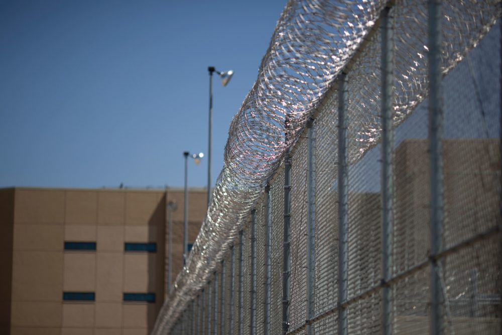 The High Desert Detention Center, a San Bernardino County jail facility in Adelanto, Calif. (David McNew/AFP/Getty Images)