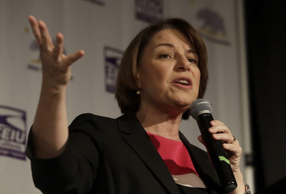 Democratic presidential candidate Sen. Amy Klobuchar, D-Minn. (Jeff Chiu/AP)