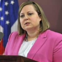 RMV head Erin Deveney, in a 2014 file photo (Josh Reynolds/AP, File)