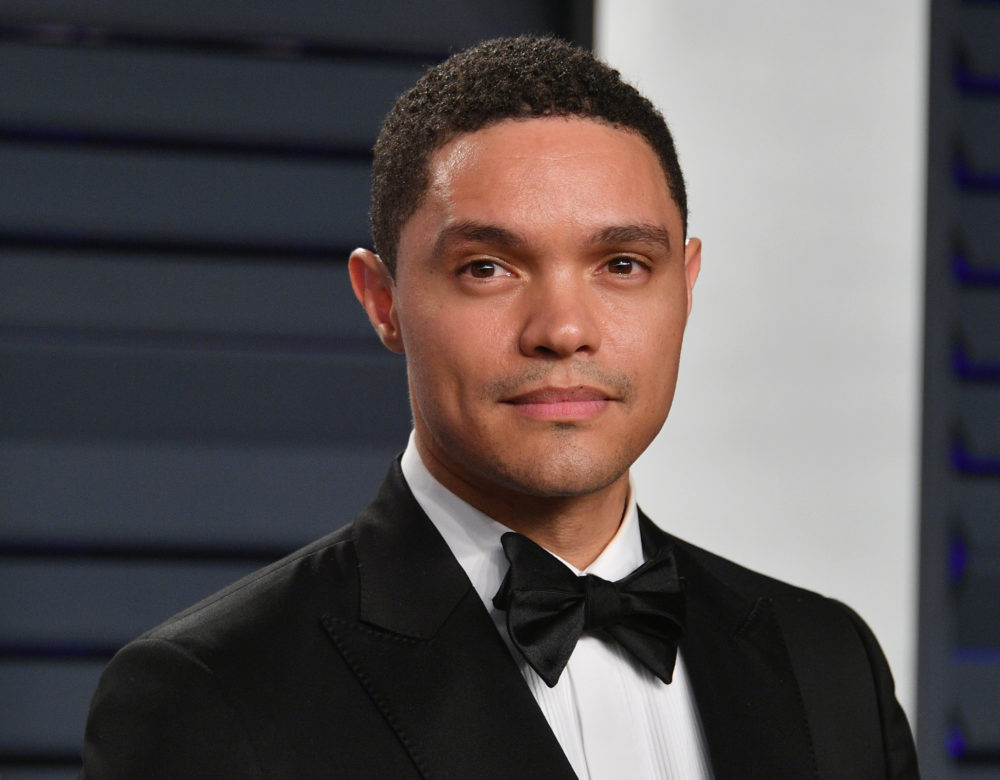 "Comedian and ""Daily Show"" host Trevor Noah has adapted his 2016 memoir ""Born A Crime"" for young readers. ""I didn't try to talk down to younger readers because I didn't like being talked down to when I was young,"" he tells Here & Now's Jeremy Hobson. (Dia Dipasupil/Getty Images)"