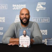 Common attends Common's Let Love: An Expression Of Art, Words & Song at Riverside Church on May 6, 2019 in New York City. (Ilya S. Savenok/Getty Images for Common's Book Tour In New York)