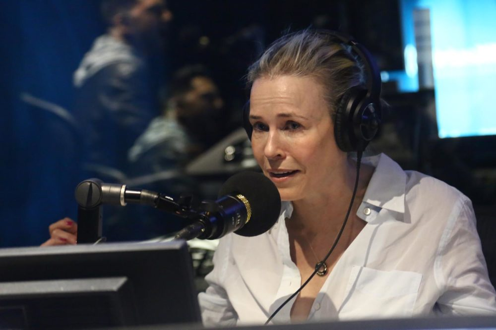 Chelsea Handler visits the SiriusXM studios in Los Angeles on May 23, 2019. (Tommaso Boddi/Getty Images for SiriusXM)