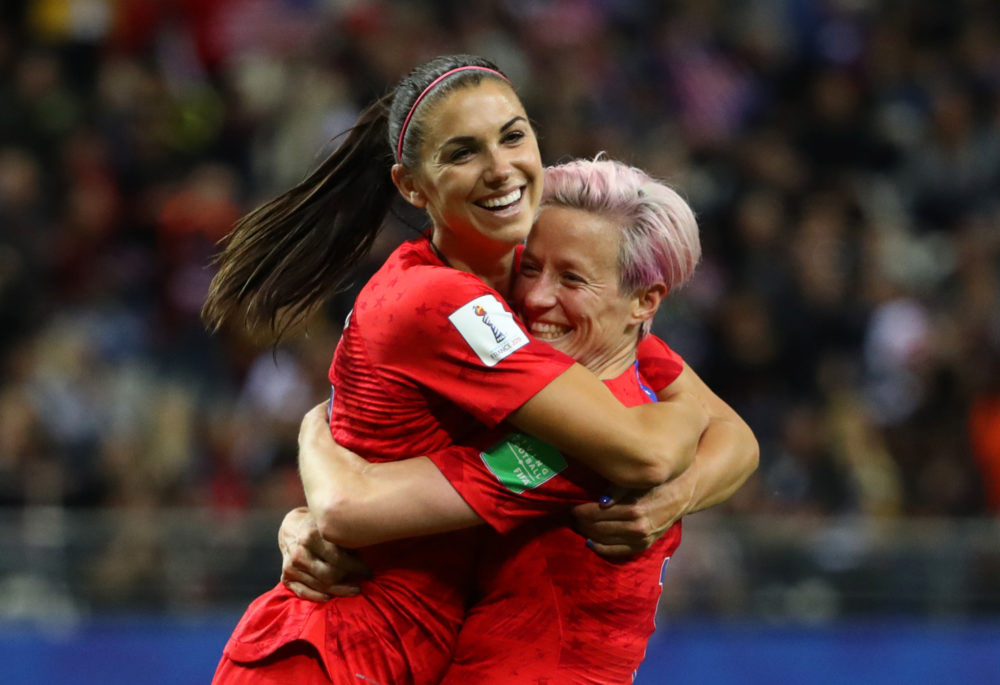 3 Stories: U S  Women's Soccer Team's Rout, NBA Courtside