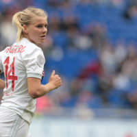 Ada Hegerberg. (Emilio Andreoli/Getty Images)