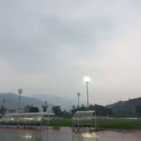 Hwacheon's home field. (Courtesy Georgia Cloepfil)