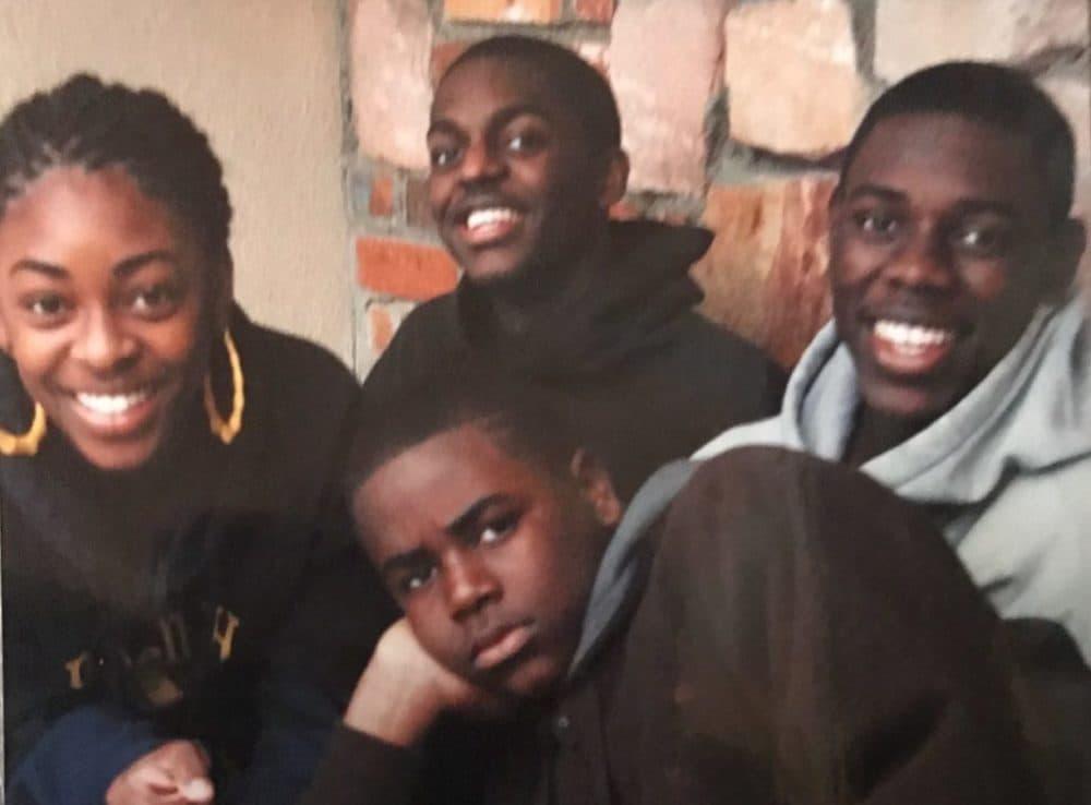 Clockwise, from left: Lauren, Justin, Jrue and Aaron Holiday. (Courtesy Lauren Holiday)