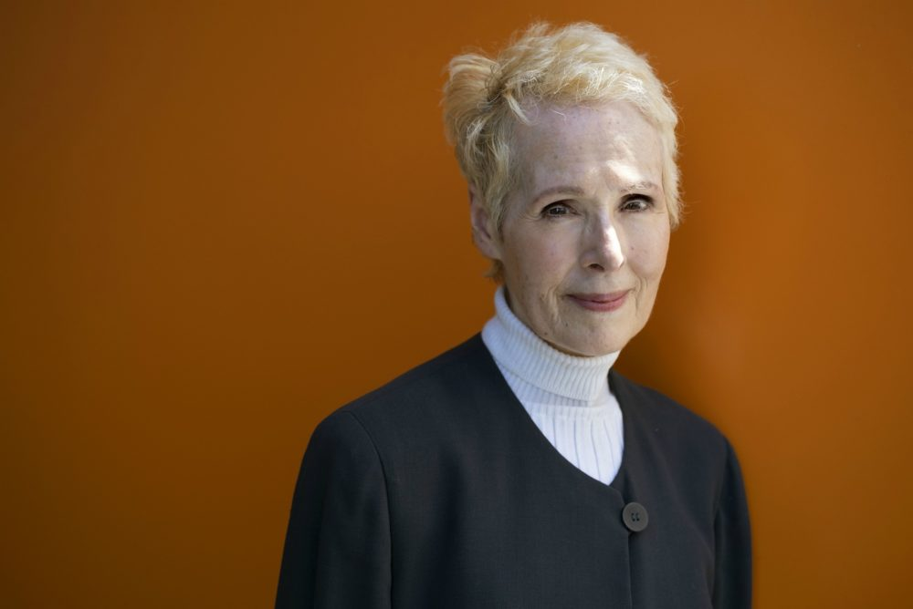 E. Jean Carroll is photographed, Sunday, June 23, 2019, in New York. Carroll claims Donald Trump sexually assaulted her in the mid-1990s. Trump denies knowing Carroll. (Craig Ruttle/AP)