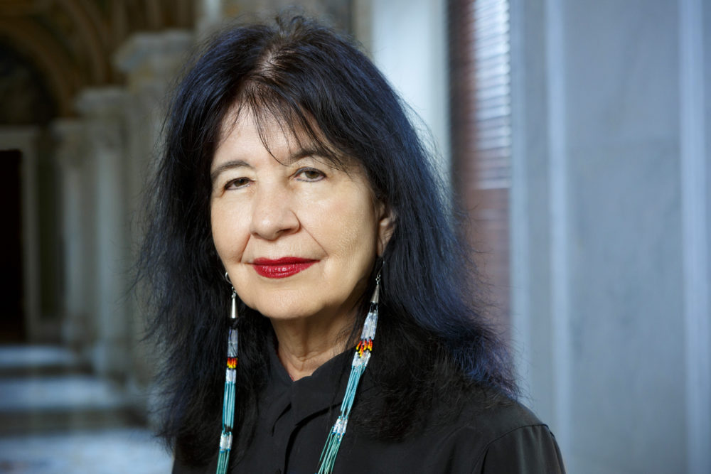Poet Laureate of the United States Joy Harjo, June 6, 2019. (Shawn Miller/Library Of Congress)