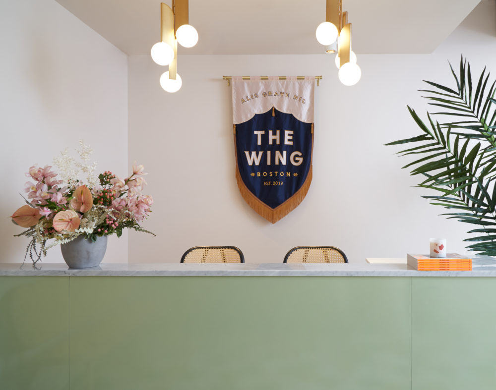 The Wing is the first coworking space for women in Boston. The company has other locations in New York, LA and San Francisco. (Courtesy Tory Williams/The Wing)