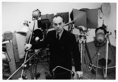 A portrait of György Kepes in 1967. (Courtesy Ivan Massar/Center for Advanced Visual Studies Special Collection/MIT)