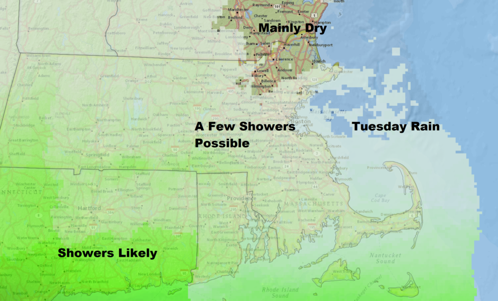 Today's Weather: Few Showers Possible, More Rain On Its Way This