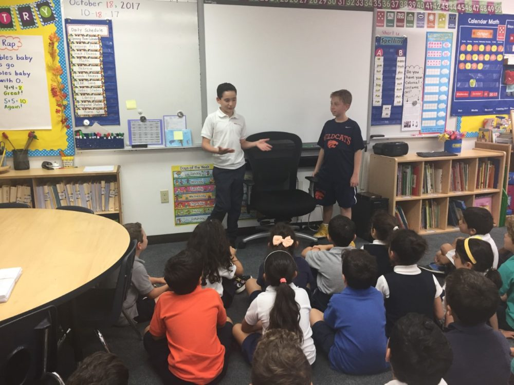 Jonah Pournazarian, right, and Dylan Siegel (left) (Courtesy of David Siegel)
