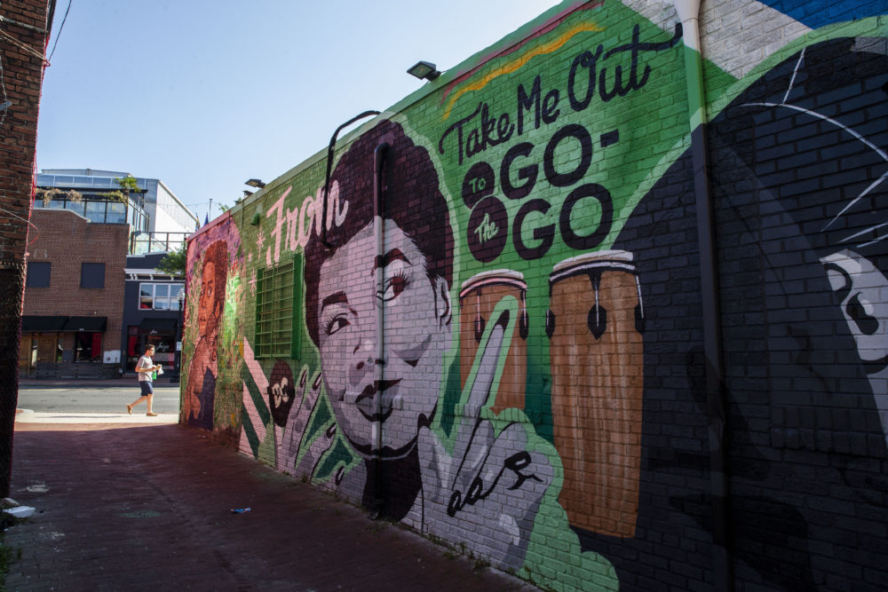 Go-go music, a distinctive, D.C.-specific offshoot of funk, has endured for decades through cultural shifts, fluctuations in popularity and law enforcement purges. Now go-go has taken on a new mantle: battle hymn for the fight against a gentrification wave that's reshaping the city. (Alex Brandon/AP)