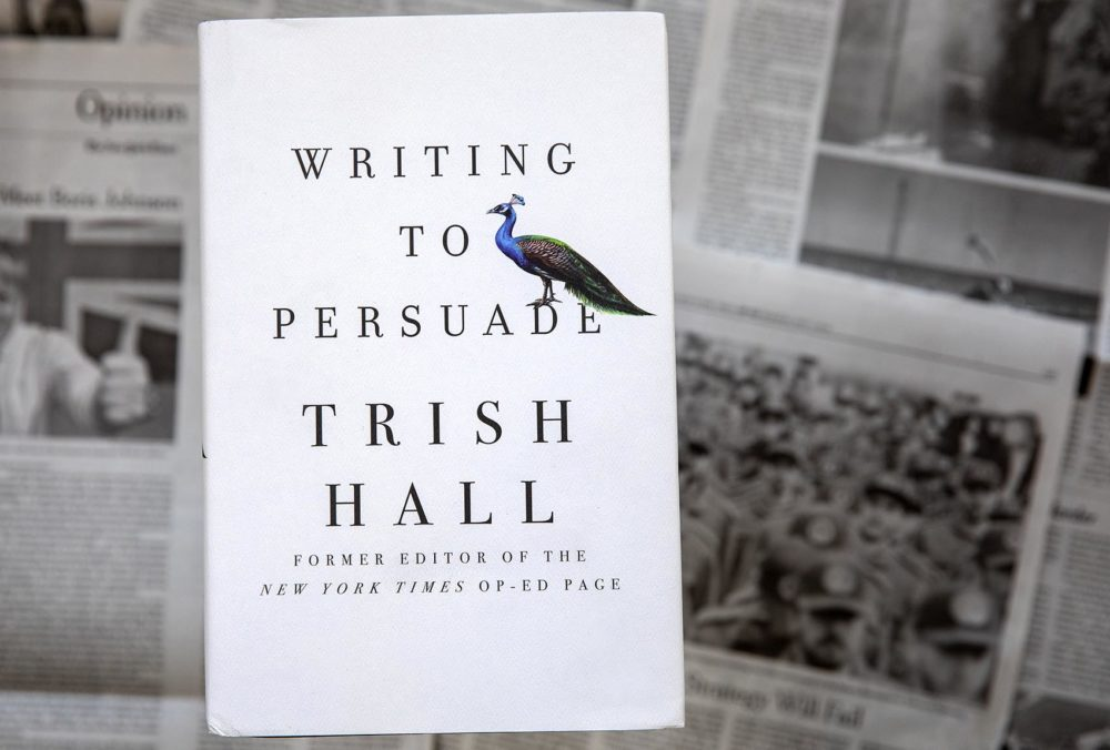 """Writing To Persuade"" by Trish Hall. (Robin Lubbock/WBUR)"