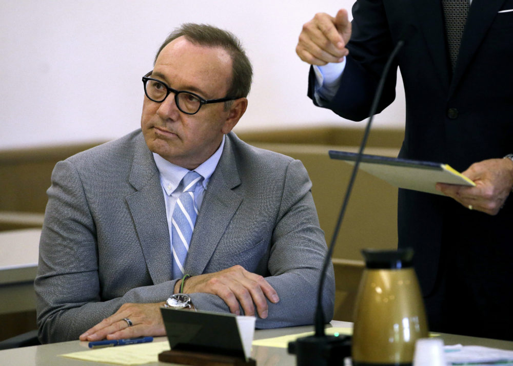 In this June 3 file photo, actor Kevin Spacey attends a pretrial hearing at district court in Nantucket, Mass. (Steven Senne/AP)