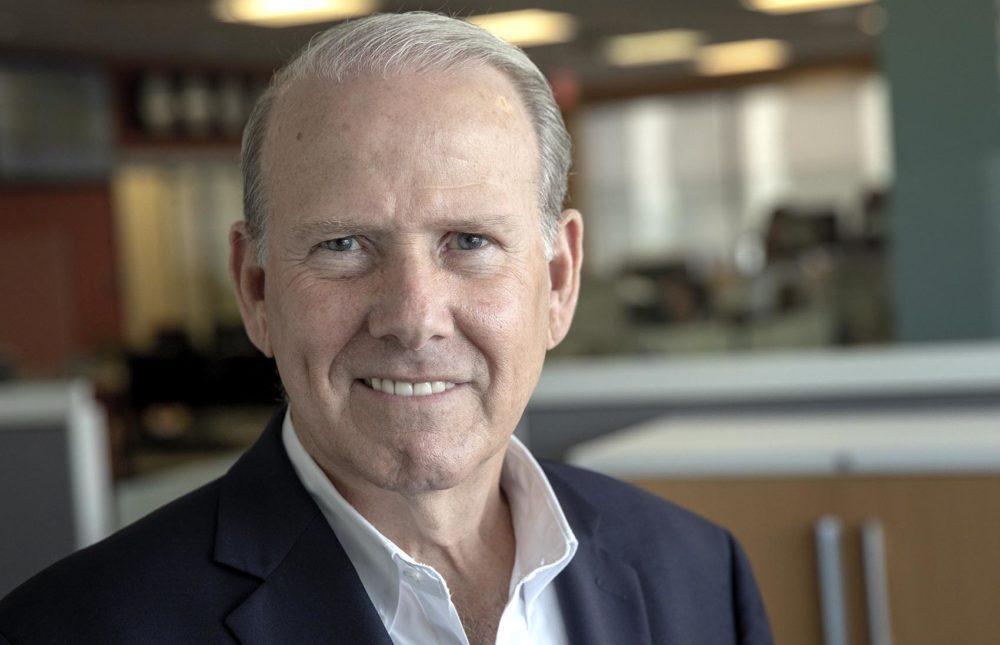 Bill McGonagle, former administrator of the Boston Housing Authority (Robin Lubbock/WBUR)